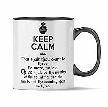 Nukular Tasse Keep Calm - Holy Grenade Toller