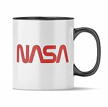 Nukular Tasse NASA Logo Worm Toller Becher für
