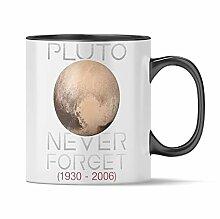 Nukular Tasse Pluto - Never Forget Toller Becher