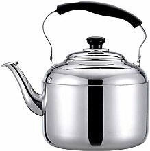 nuli Silber Tee Kessel Edelstahl Pfeife Teekanne,