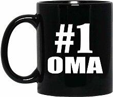 Number One #1 Oma - 11 Oz Coffee Mug Kaffeebecher