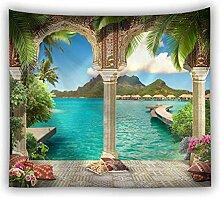 Nunubee Tapisserie Wandteppich 3D WANDILLUSION