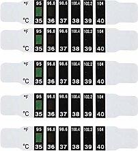 NUOBESTY 24Pcs Thermometer Streifen Farbwechsel