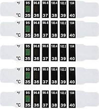NUOBESTY 40Pcs Thermometer Streifen Farbwechsel