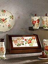 Nuova Ceramica Artisan Nostalgischer Brotkasten