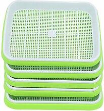 NURICH 5St. Seed Sprouter Tray Keimschale für