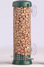 Nußfütterer, Fensterfütterer, Vogelhaus fürs Fenster, 22 cm, GRÜN