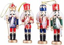 Nussknacker Deko Weihnachtsschmuck Holz