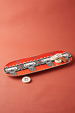 Nussknacker Servierplatte - Red