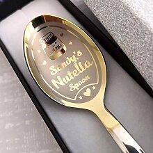 Nutella Löffel in Geschenkbox –
