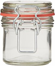 Nutley 's 125ml Clip Top Preserve Jar (Pack