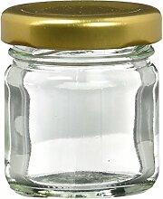 Nutley's Mini-Einmachglas, 42 ml, 12 Stück