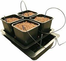 Nutriculture WILMA System - Hydrokultur Aeroponic 4 Pflanzen Growset Aufzuch
