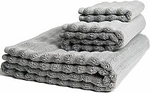 Nutrl Handtücher Luxus Baumwolle Badetuch Set
