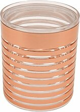 Nuts 2007.010 Stripes Vorratsbehälter XL, 2,0 L, kupfer