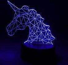 NUÜR Lampe, Einhorn, Unicorn