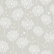 NuWallpaper Dandelion taupe schälen und Stick