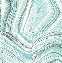nuwallpaper Metamorphis schälen und Stick Tapete,