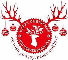 Nvfshreu Vneirw Fensteraufkleber Weihnachten