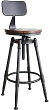 Nwn Barhocker Rotierenden Stuhl Massivholz
