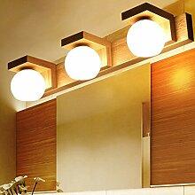 Nwn Holz Spiegel Scheinwerfer Badezimmer Vanity