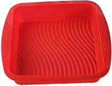 NWYJR Silikon Kuchenform Jello Pudding Form backen Werkzeuge 2pcs quadratisch