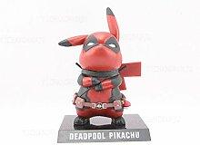 NXHJSSS Pokemon Pikachu Deadpool Cosplay PVC