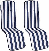 nxtbuy Auflage für Relaxliegen Capri 2er Set