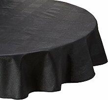 Nydel 366532Panama Tischdecke rund schwarz 170x 0,2cm