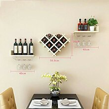 NYDZDM Wine Rack Horizontales Weinflaschenregal,