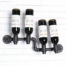 NYDZDM Wine Rack Wandmontiertes Weinregal im