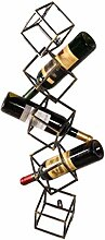 NYDZDM Wine Rack Weinhalter Weinregal Vintage