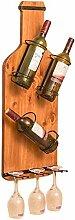 NYDZDM Wine Rack Weinregal aus Holz, zur