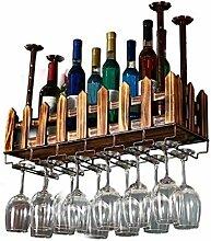 NYDZDM Wine Rack Weinregal aus Massivholz mit