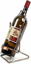 NYDZDM Wine Rack Weinregal aus Metall, für die
