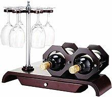 NYDZDM Wine Rack Weinregal für 2 Flaschen,