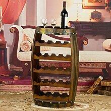 NYDZDM Wine Rack Weinregal für 23 Flaschen,