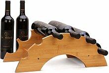 NYDZDM Wine Rack Weinregal für 6 Flaschen,