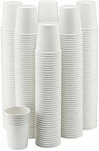 NYHI Einweg-Kaffeebecher, 284 ml, Papier, weiß, 4