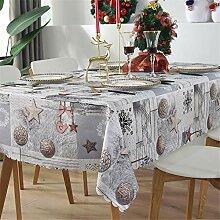 NYLWSL Weihnachten Tischabdeckung,Dekoration