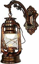 Nysunshine Vintage LED Wandlampe, Retro