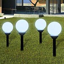 Nyyi Außenlampe Solarlampe LED Gartenkugel