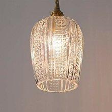 NZDY Kronleuchter Glas Fashioned Pure Brass E14