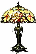 NZDY Nachttischlampe Im -Stil, Barocklampe