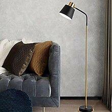 NZDY Stehlampe Stehlampe E27 Sockel Goldene