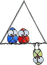 NZDY Wandbehang Vogelspezies Bunt Anhänger