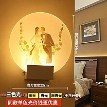 NZJSY Modern Kreative Wandleuchte Nachttischlampe
