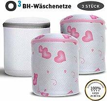 O³ Wäschenetz BH // 3 Wäschebeutel für