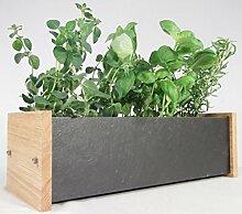 Oak Slate Design Fensterbank-Kräuter- und