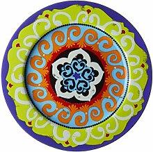 Oaks Lighting Nador Set 6 Speiseteller lila Im